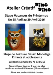Affichestageprintemps2016